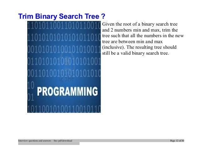 search range in binary search tree leetcode