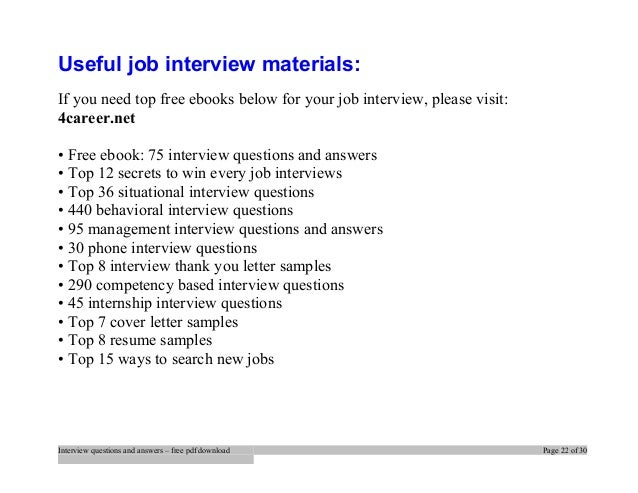 Top programming interview questions and answers job ...