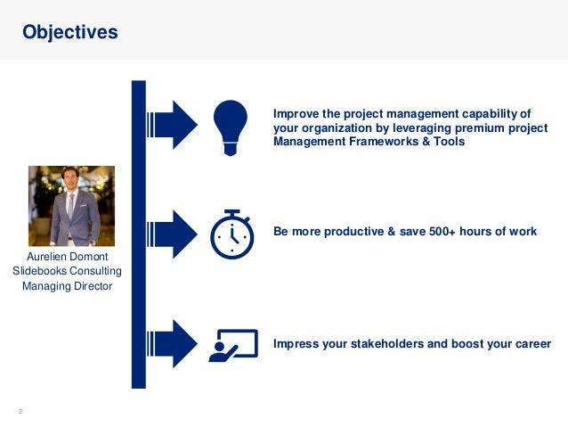 Project Management Toolkit: Frameworks, Tools & Templates Slide 2