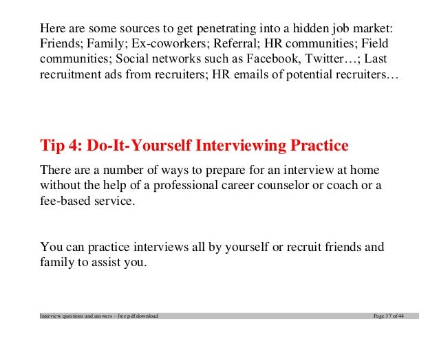 Captivating Interview Questions .