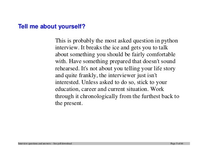 top 20 python interview questions and answers pdf ebook