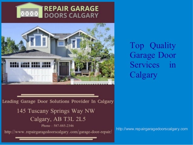 Top Quality Garage Door Services In Calgary