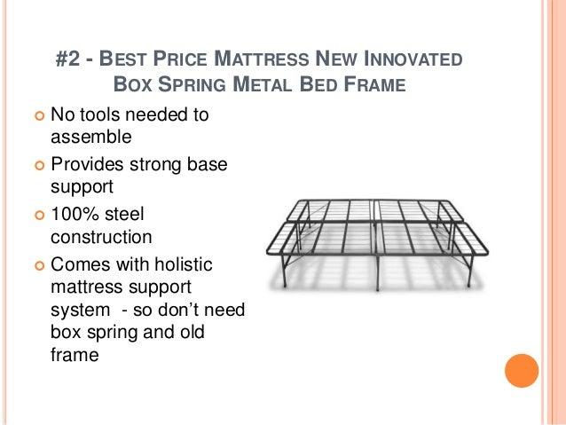 Top Rated Bed Frames 2017
