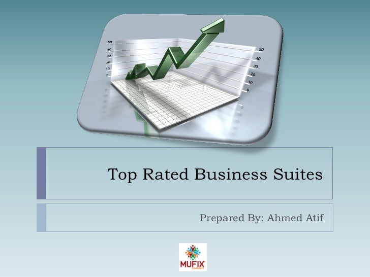 Top Rated Business Suites          Prepared By: Ahmed Atif