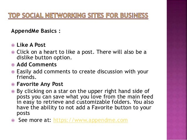 AppendMe Basics :  Like A Post  Click on a heart to like a post. There will also be a dislike button option.  Add Comme...