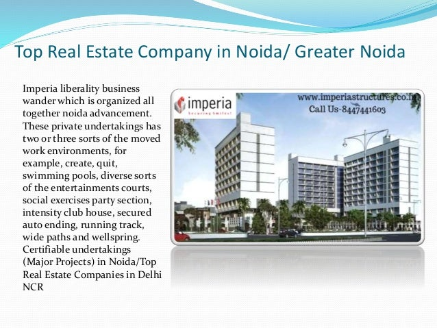 Top real estate company in noida greater noida