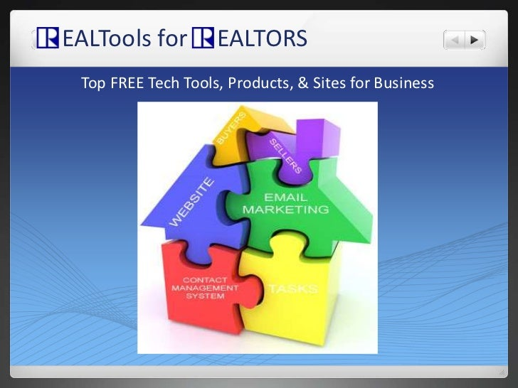 EALTools for     EALTORS<br />Top FREE Tech Tools, Products, & Sites for Business <br />