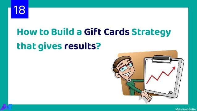MakeWebBetter How to Build a Gift Cards Strategy that gives results? 18