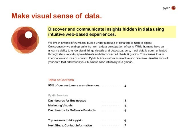 pykih Discover and communicate insights hidden in data using intuitive web-based experiences. We live in a world of number...