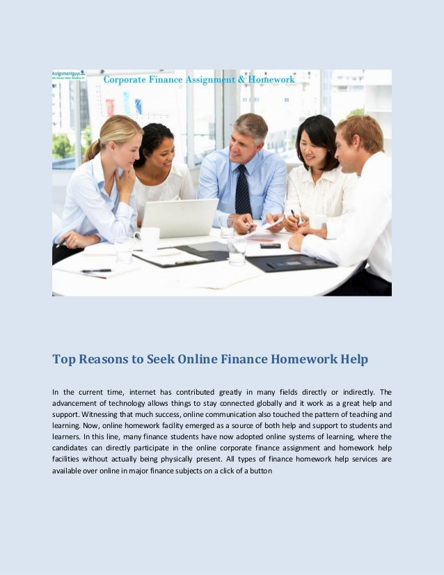 homework help finance ssays for  homework help finance