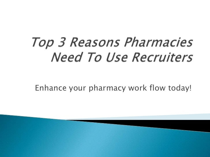 Enhance your pharmacy work flow today!