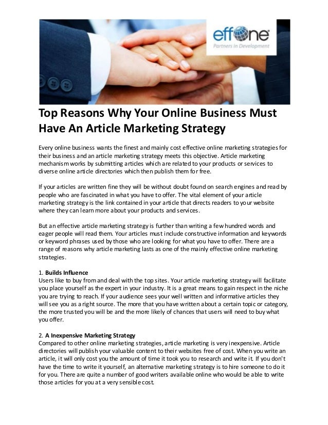 BUSINESS MARKETING ARTICLES PDF DOWNLOAD