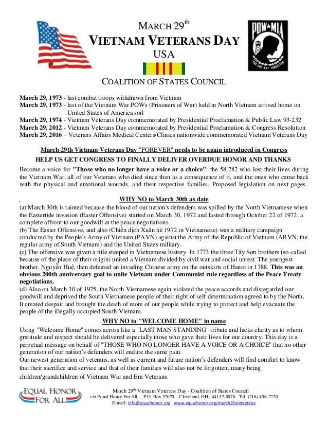 Veterans Day Letter Sample