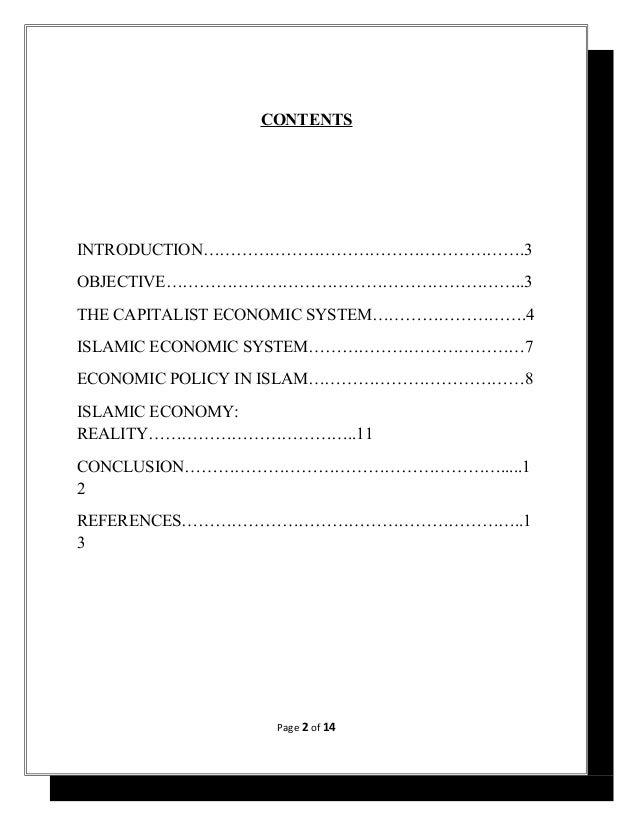 Capitalist Economic System