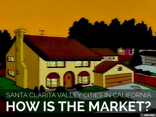Top Santa Clarita real estate team with Housing Market Data