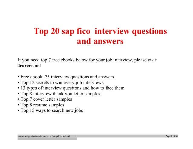Sap Abap Interview Questions Pdf