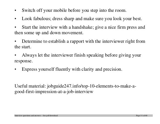 top sap interview questions and answers job interview tips interview questions