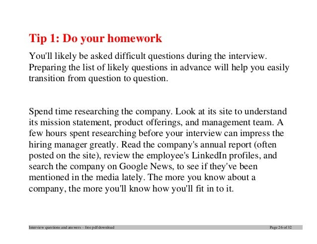 top interview questions and answers pdf