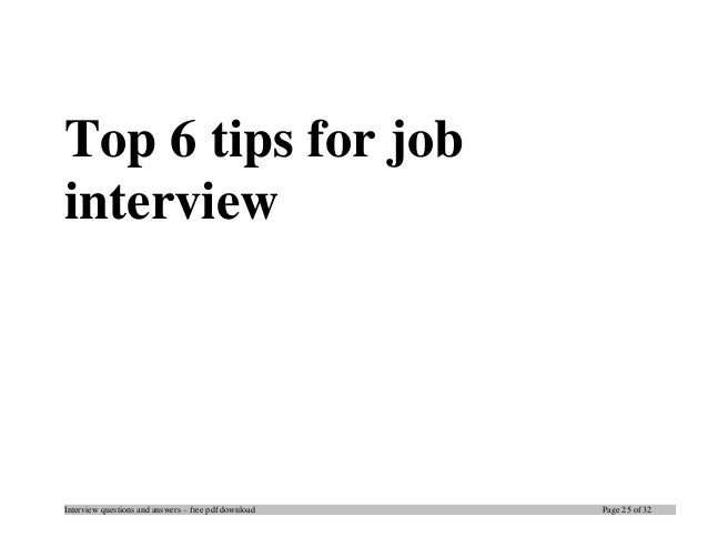 Top sap sd interview questions and answers job interview tips