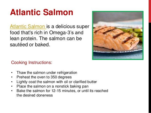 kirkland atlantic salmon cooking instructions