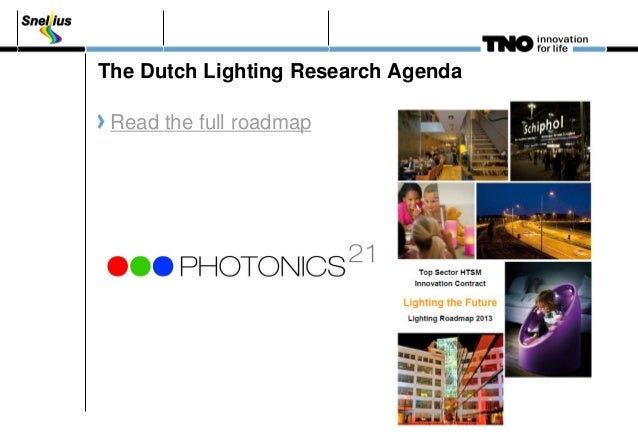 topsector htsm lighting door nils erkamp van tno