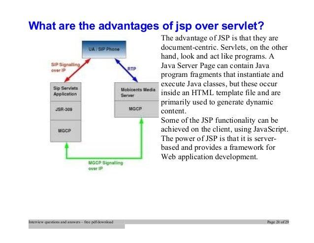 Questions servlet pdf interview
