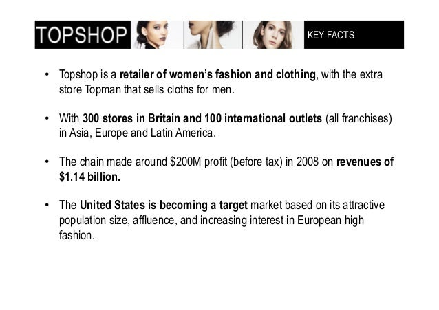 Marketting reasearch topshop