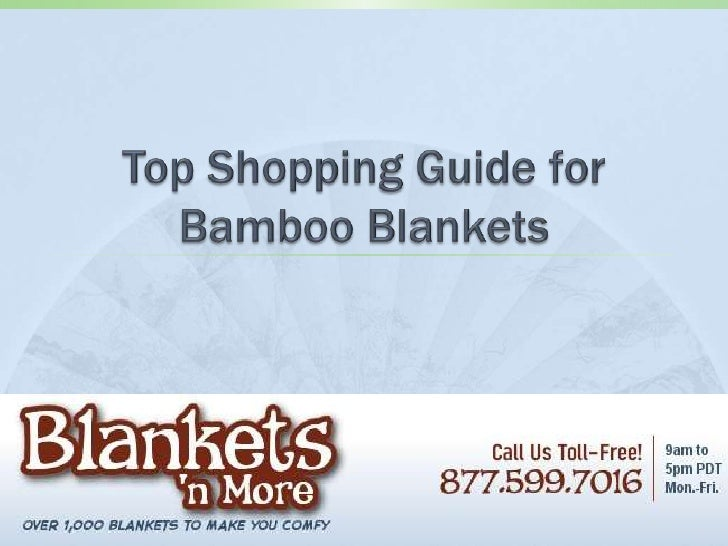 Top shopping guide for bamboo blankets