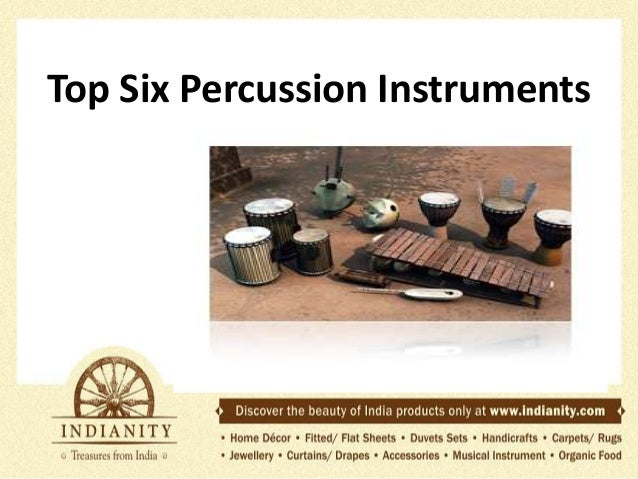 Top Six Percussion Instruments