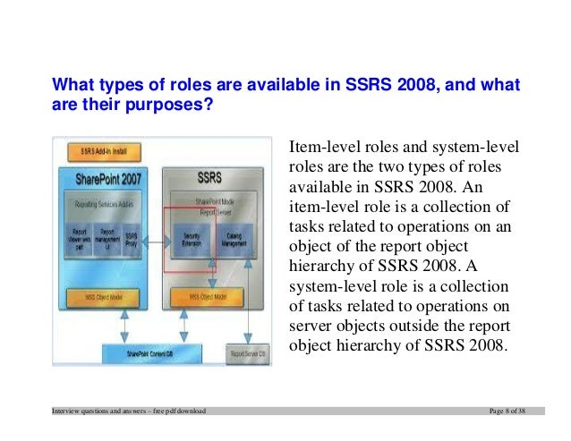 Top 20 ssrs interview questions and answers pdf ebook free