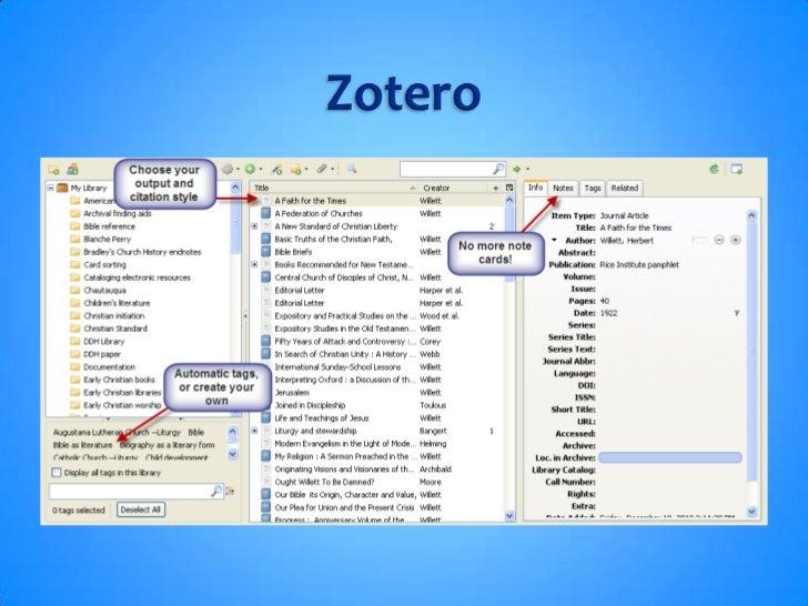 Zotero<br />