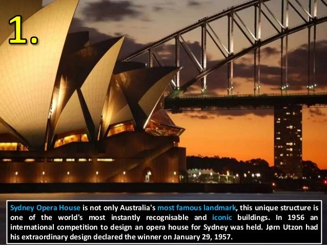 Powerpoint Top 10 Australian Landmarks