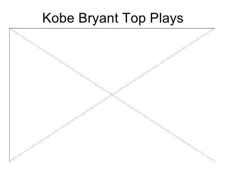 Kobe Bryant Top Plays