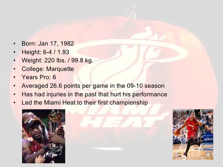 <ul><li>Born: Jan 17, 1982  </li></ul><ul><li>Height: 6-4/1.93  </li></ul><ul><li>Weight: 220 lbs./99.8 kg.  </li></ul...