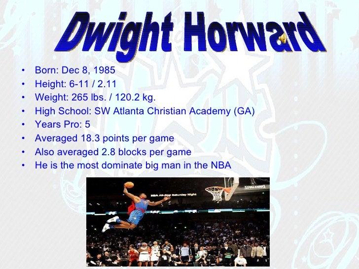 <ul><li>Born: Dec 8, 1985  </li></ul><ul><li>Height: 6-11/2.11  </li></ul><ul><li>Weight: 265 lbs./120.2 kg.  </li></u...