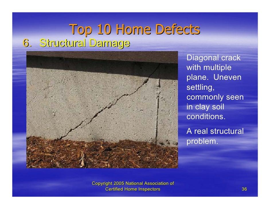 Top Ten Common Defects