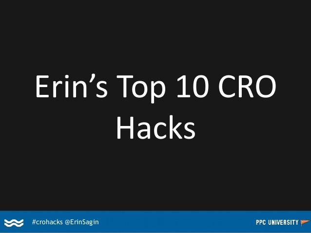 Top 10 CRO Hacks of All Time