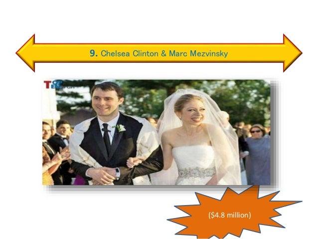 9. Chelsea Clinton & Marc Mezvinsky ($4.8 million)