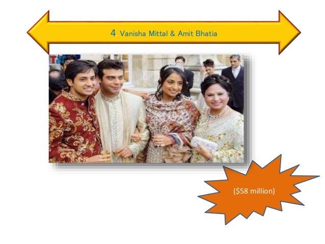 4. Vanisha Mittal & Amit Bhatia ($58 million)