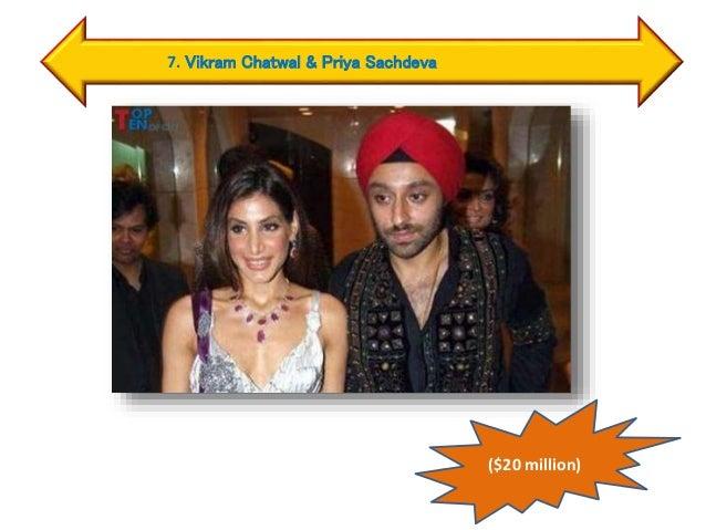 7. Vikram Chatwal & Priya Sachdeva ($20 million)