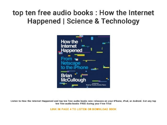free audio books on the internet