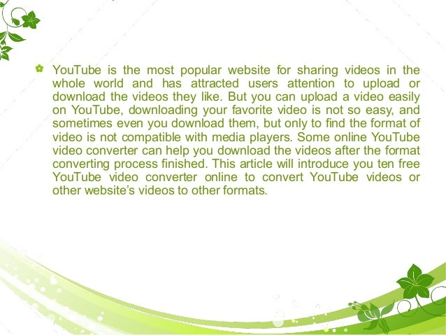 Top ten free you tube video downloader websites top ten free youtube video downloader websites 2 ccuart Images