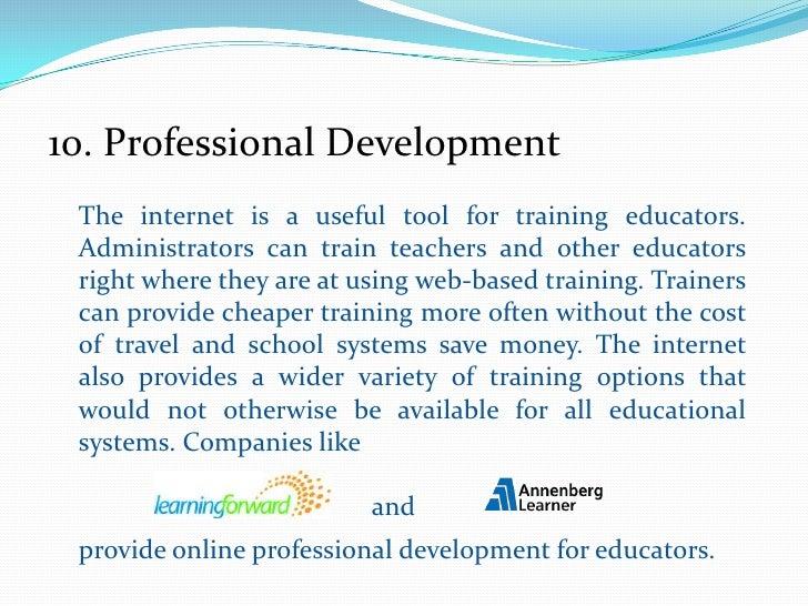 Top Ten Internet Uses In Education