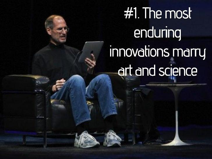 Top Ten Lessons Steve Jobs Taught Us Slide 2