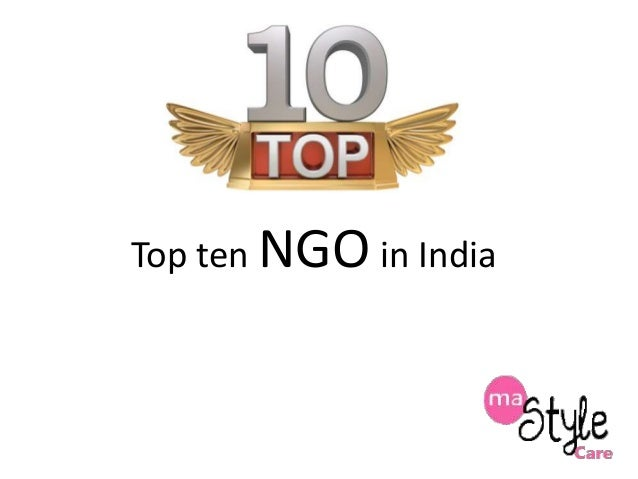 Top ten NGO in India