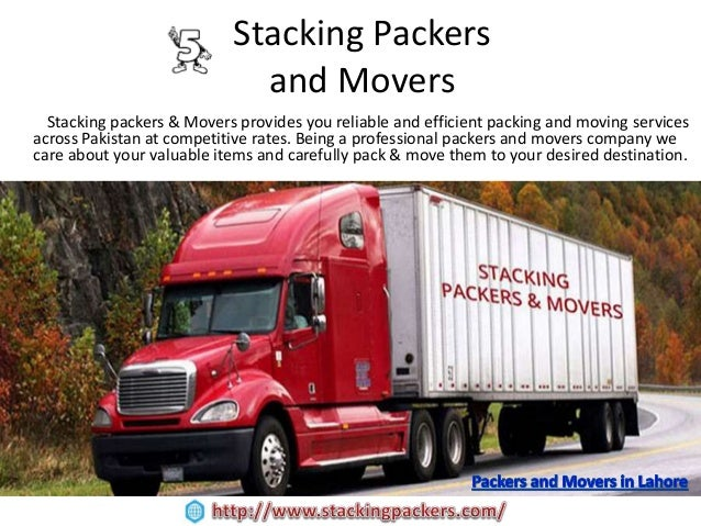 ... Transportation; 6. Stacking Packers ...