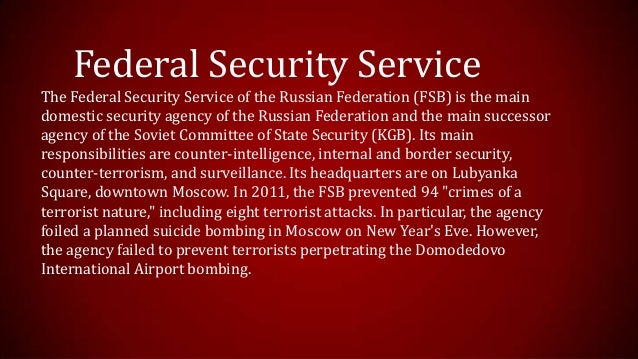 Image result for Federal Security Service, FSB, photos