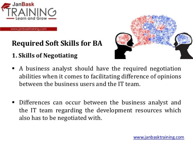 top ten soft skills required for a business analyst