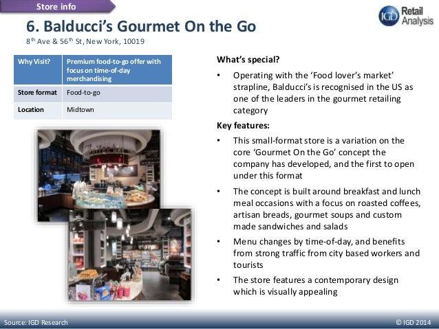 Gourmet Food Stores Midtown Nyc