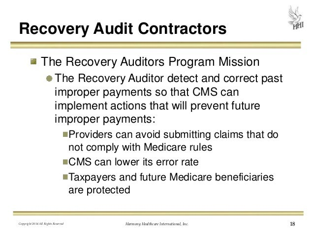 recovery audit contractor program